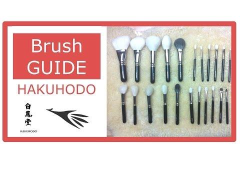 Die BESTEN Pinsel der Welt - Brush Guide – HAKUHODO – Bärbel Schäfer