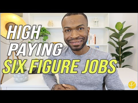 10 HIGH PAYING JOBS for 6-FIGURES (Degree & No Degree)