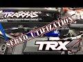 TRAXXAS TRX-4 TRAXXAS LAND ROVER DEFENDER SERVOS