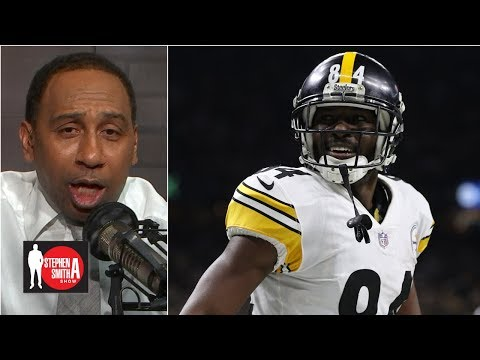 The Steelers traded Antonio Brown for 'a bag of chips and a Coke' | The Stephen A. Smith Show