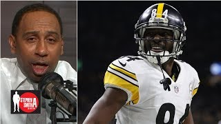 The Steelers traded Antonio Brown for 'a bag of chips and a Coke' | Stephen A. Smith Show