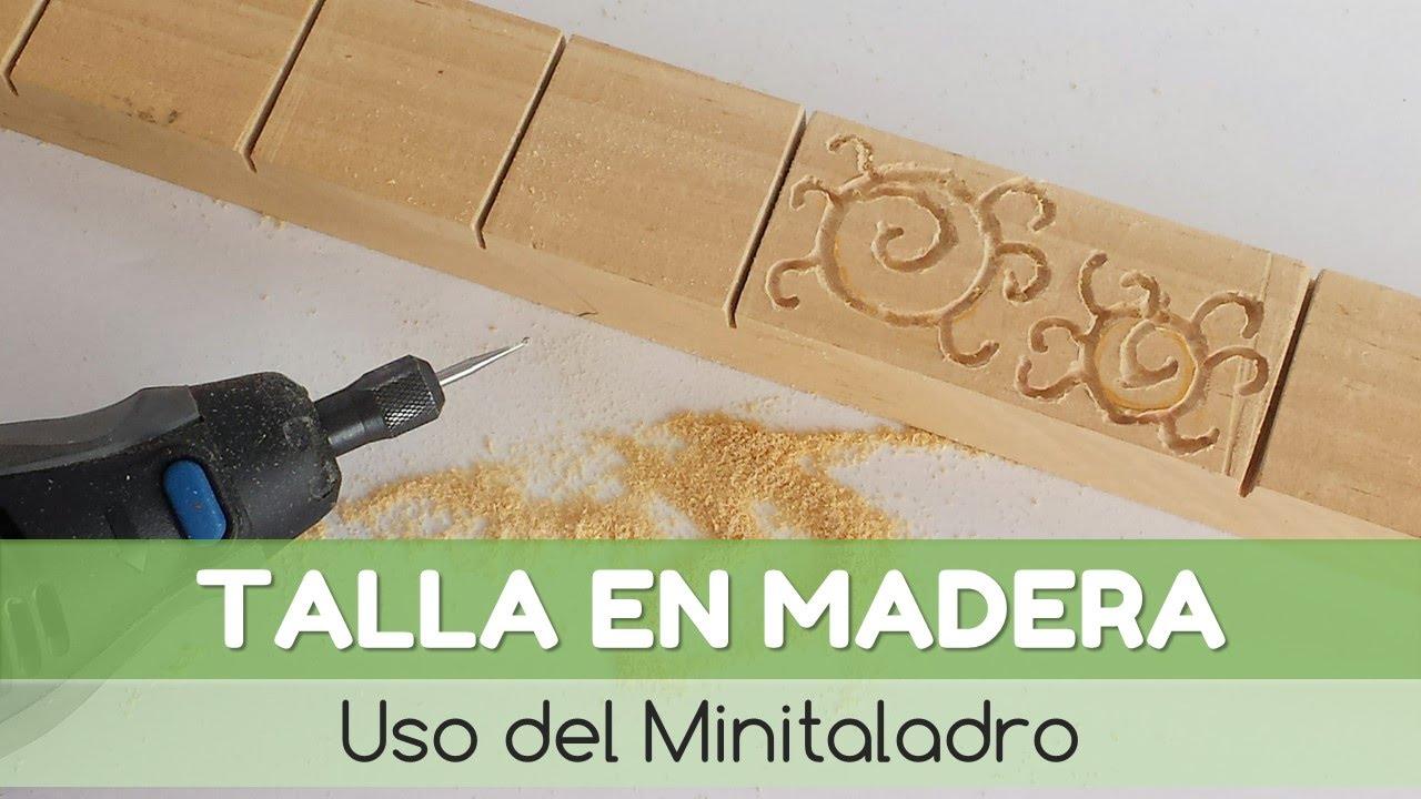 C mo hacer una talla en madera youtube for Bricolaje en madera gratis