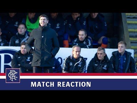 REACTION | Steven Gerrard | St Johnstone 1-2 Rangers