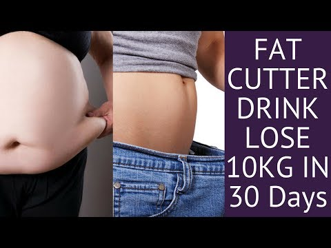 Fat Cutter Drink For Extreme Weight Loss 10 Kgs in 30 Days in Hindi | How to Lose Weight Fast