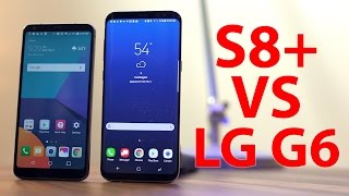 Galaxy S8+ Vs LG G6 \\ Real World Phone Battle!