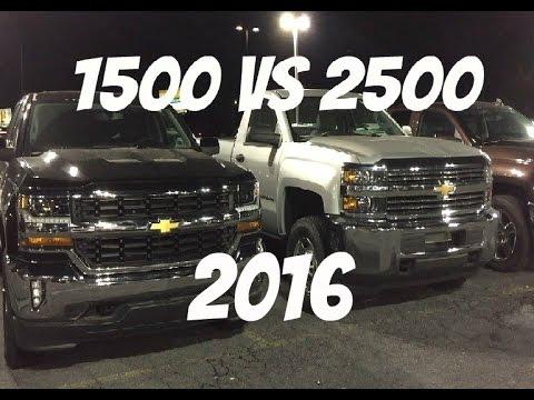 Looked At A 2016 Chevrolet Silverado 2500 Youtube
