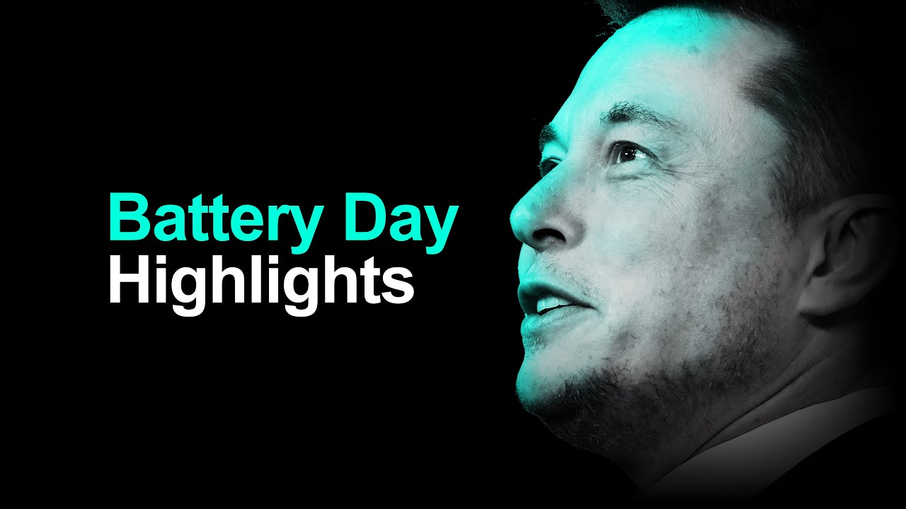 Tesla Battery Day In 15 Minutes (highlights)