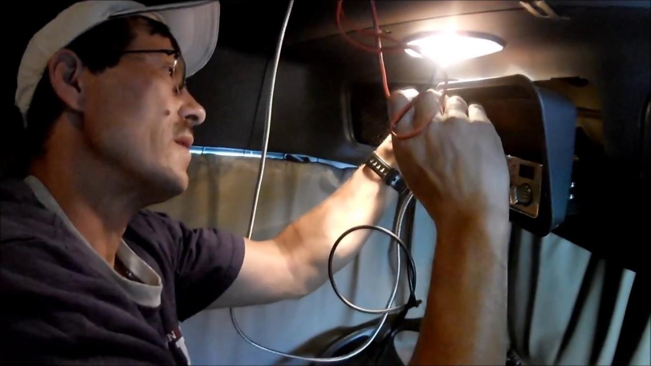 medium resolution of  attackett frieghtliner install