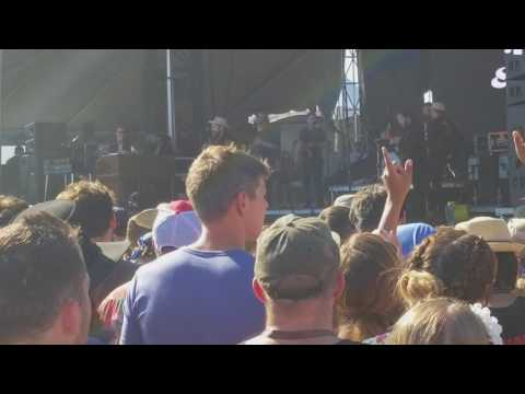 Nathaniel Rateliff and the Night Sweats NEW SONG at Forecastle Fest 7/15/17