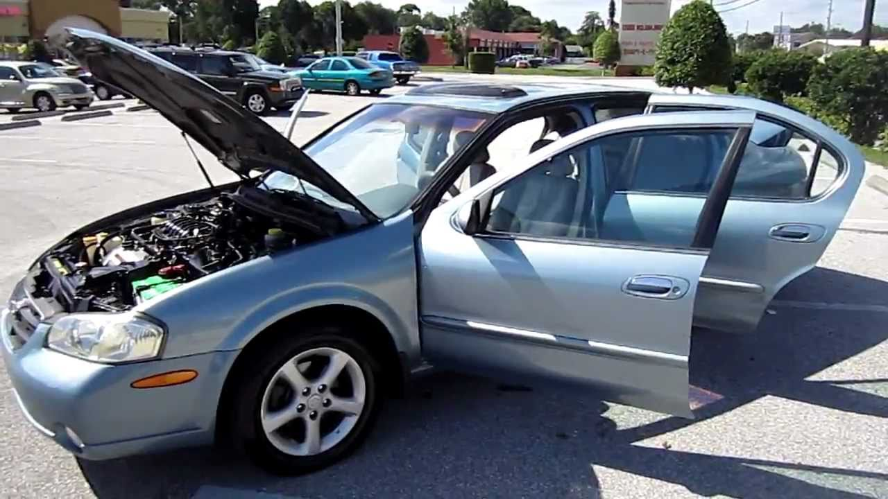 Exceptional SOLD 2001 Nissan Maxima GLE Meticulous Motors Florida For Sale LOOK!