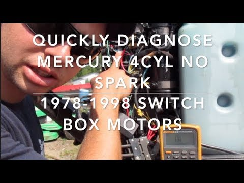 How To: Mercury Outboard No Spark Step-By-Step how to fix with minimal tools.