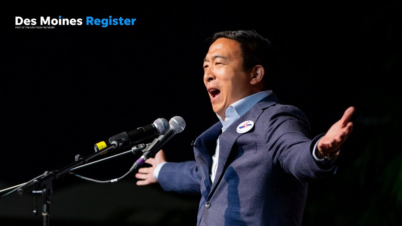 Download Full speech: Andrew Yang speaks at the Iowa Democratic Wing Ding (8.9.19)