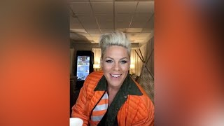 P!nk - Instagram Live (Tuesday, April 30th, 2019)