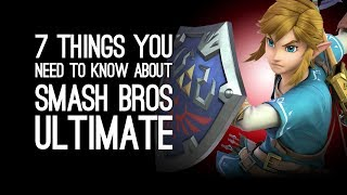 Smash Bros Switch: 7 Things You Need to Know About Super Smash Bros Ultimate on Switch