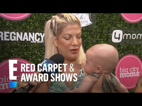 Tori Spelling's Baby Boy Beau Makes Red Carpet Debut | E! Live from the Red Carpet