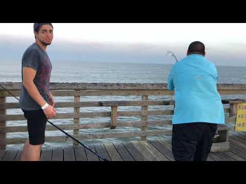 Man Hits JACKPOT Galveston FISHING PIER