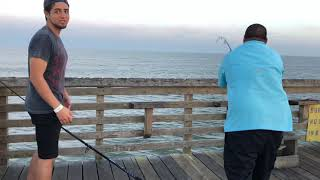 Man Hits JACKPOT Galveston FISHING PIER