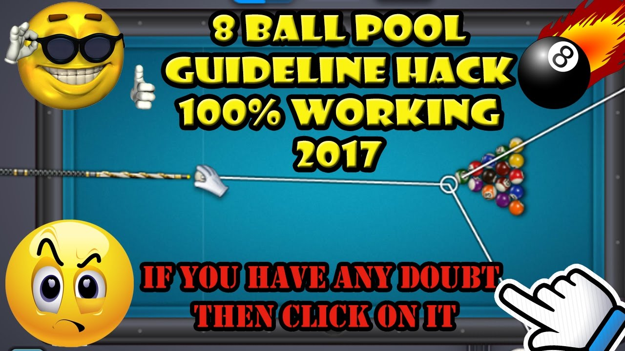 8 ball pool extended guideline hack