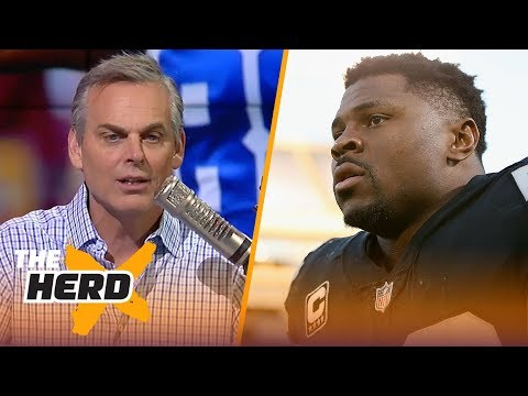Colin on the Patriots not showing interest in Dez, Khalil Mack to the Jets rumors | NFL | THE HERD