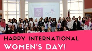 International Women's Day at Sinclair Secondary
