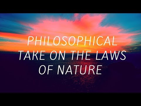 Laws of Nature (Philosophical View)