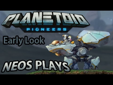 The Next Cortex Command? An Early Look At Planetoid Pioneers | Neos Plays