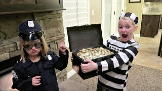 STOLEN TREASURE! | COPS AND ROBBERS thumbnail
