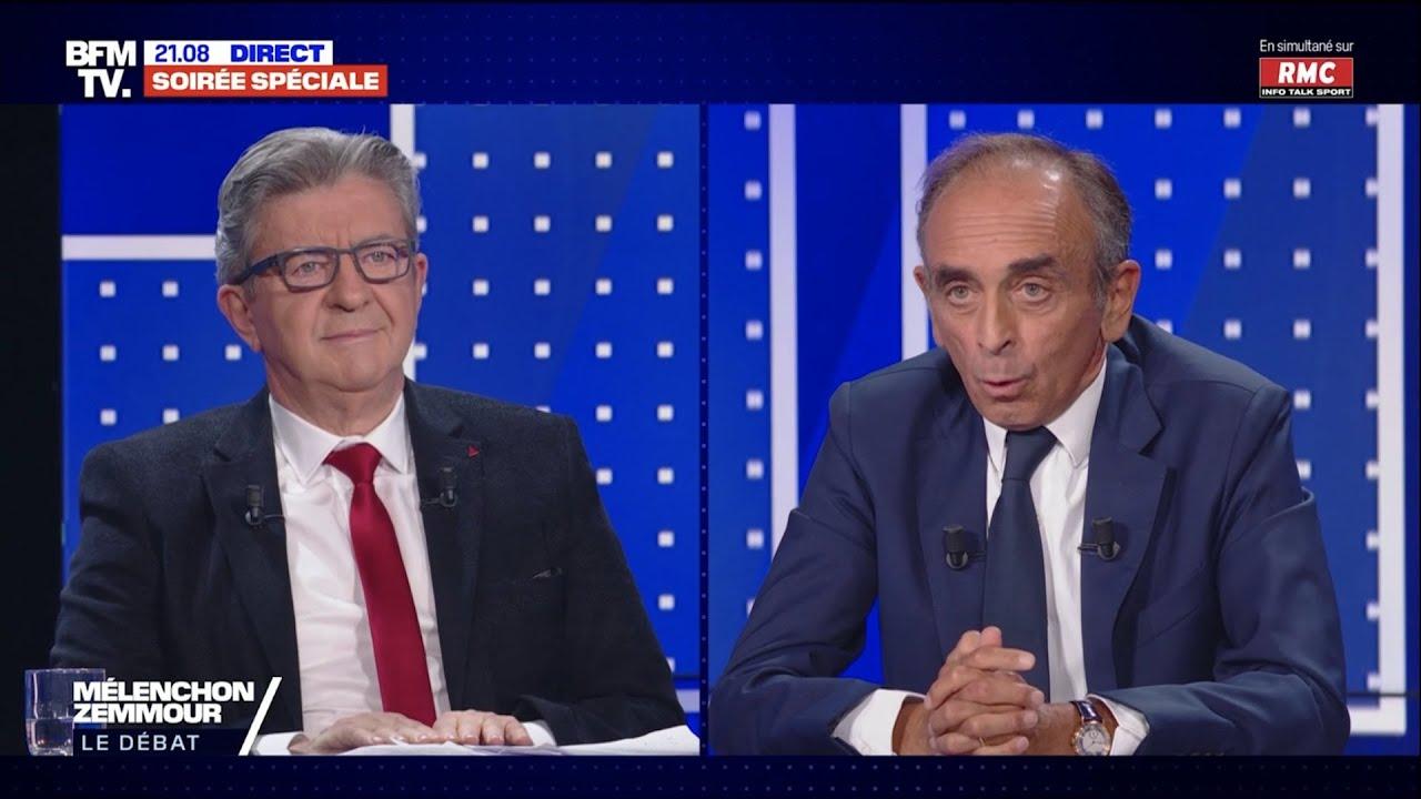 Download Débat Mélenchon VS Zemmour - Le replay