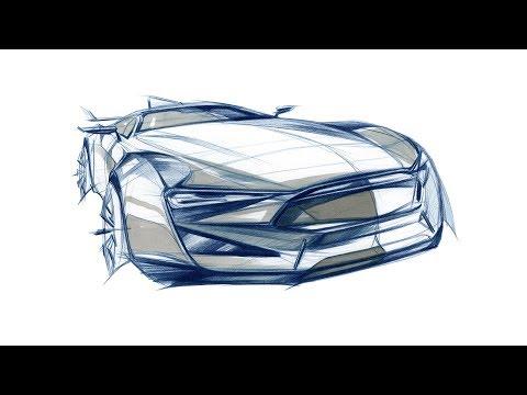 car-design-sketch