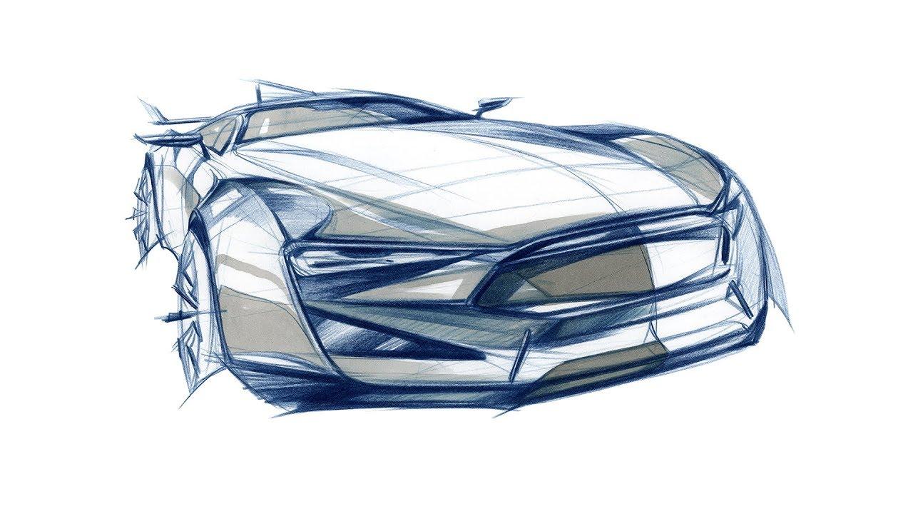 Car Design Sketch - YouTube