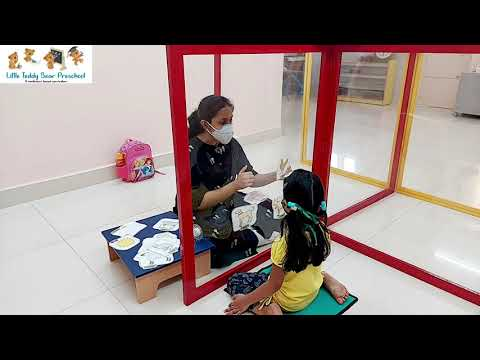 Demonstrating COVID19 Safety Protocols Followed at Little Teddy Bear Preschool