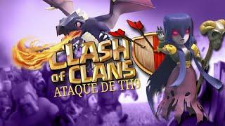como atacar de dragão cv9 - Clash of Clans