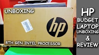 HP 250 G6 Laptop Unboxing & Review 2019 | Low Budget 8th Gen Processor