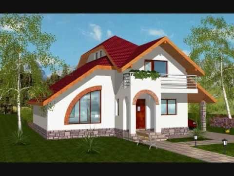 Proiect casa stela proiecte case cu mansarda youtube for Youtube case cu mansarda
