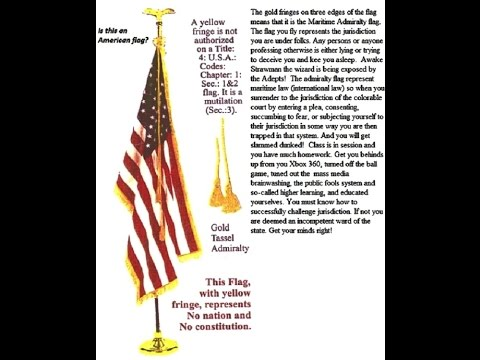 That Admiralty flag.Military Government, De Facto, Color of law, Allegiance to who?