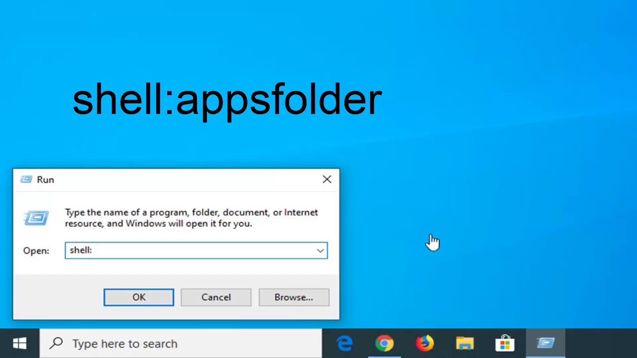 How to Create Application Shortcuts to Desktop in Windows ...