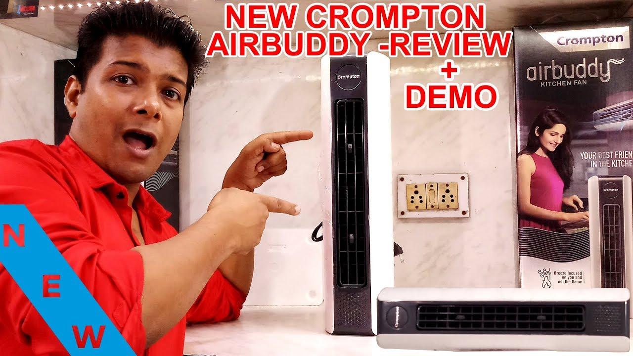 Crompton Airbuddy Wall Mounted Mini Ac Tower Crompton Airbuddy Kitchen Fan Crompton Tower Fan Youtube