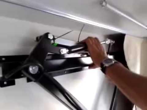 Pistones cama techo youtube - Como hacer una litera ...