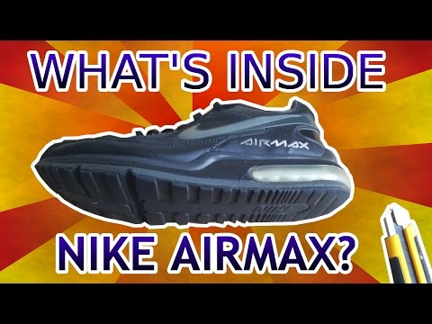 What's inside NIKE AIRMAX LTD II?? Does the Airbag really work???