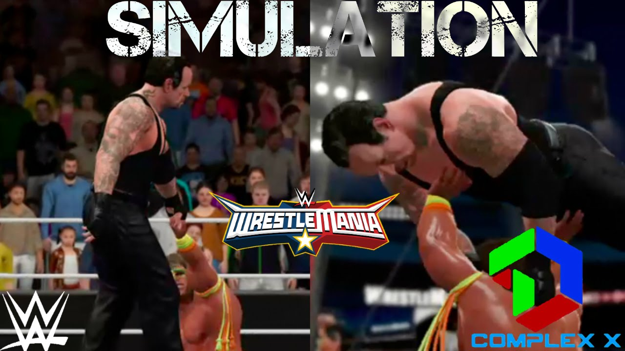 WWE 2K16 Simulation: Undertaker vs Ultimate Warrior ...