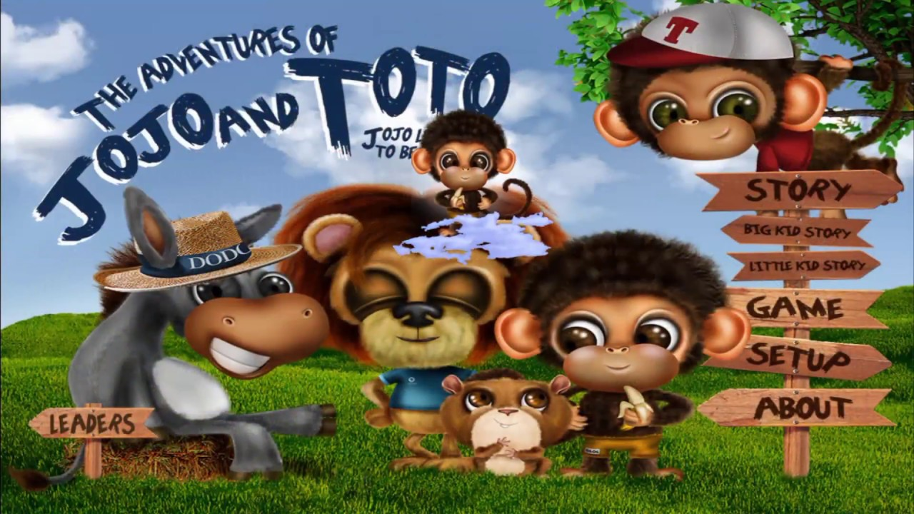 Adventures of JoJo & ToTo - Childrens Storybook Game App