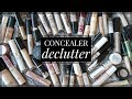 CURATING MY CONCEALER COLLECTION! What Made The Cut?? 50% Gone!
