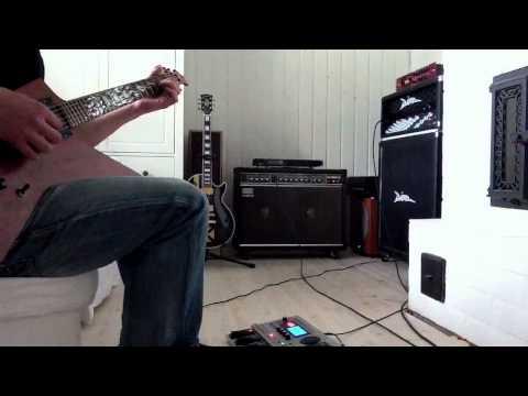 Metallica - Fade To Black (cover). Roland JC-120 + Diezel VH4