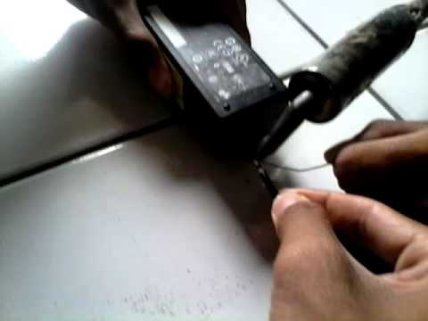 Cara Menyambung Kabel Charger Yang Putus Laptop Acer Youtube