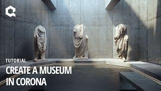 Corona Render bir Müze oluşturmak