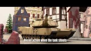 Танк на радиоуправлении M1A2 Abrams NATO Airsoft/JR(Купить радиоуправляемую модель танка VS Tank M1A2 Abrams NATO Airsoft/JR Вы можете в интернет магазине «Папа дает добро»..., 2013-04-28T17:20:19.000Z)