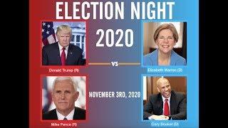 Election Night 2020 | Donald Trump vs Elizabeth Warren