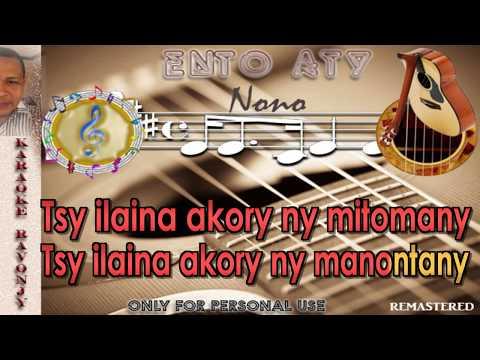 Nono - Ento aty - Karaoke Gasy - RaVonjy
