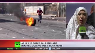 At least 3 Palestinians injured during West Bank riots