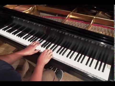 Slender Man Song On Piano
